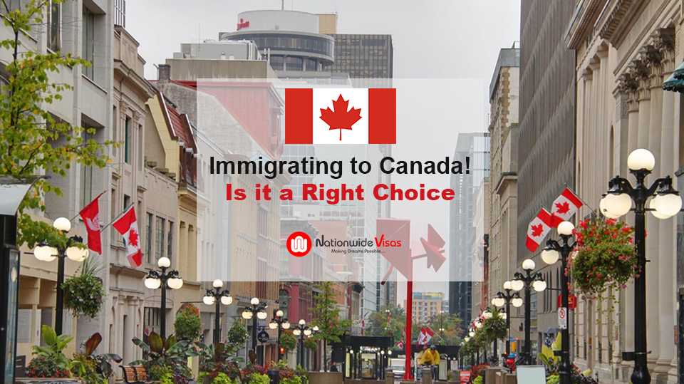 benefits of migrating to Canada