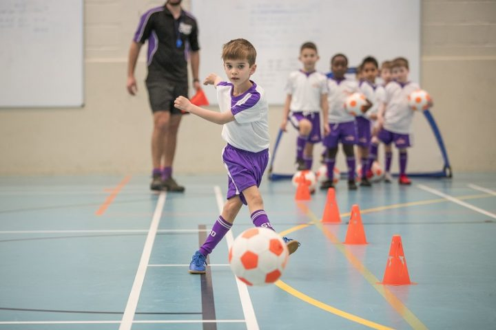 Kid's football classes