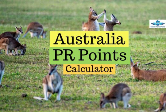 Australia Skilled Immigration Points Calculator